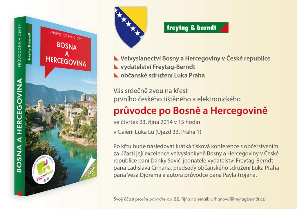 promocija prvog turističkog vodiča kroz Bosnu i Hercegovinu na češkom jeziku 2